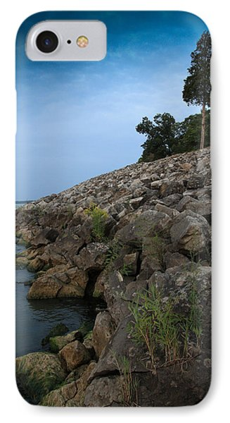 IPhone Case featuring the photograph Catawba Point Shoreline by Terri Harper
