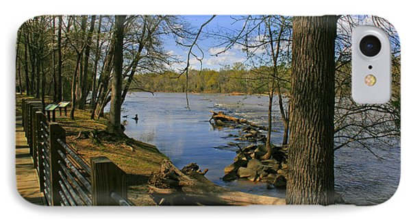 IPhone Case featuring the photograph Catawba River Walk by Andy Lawless