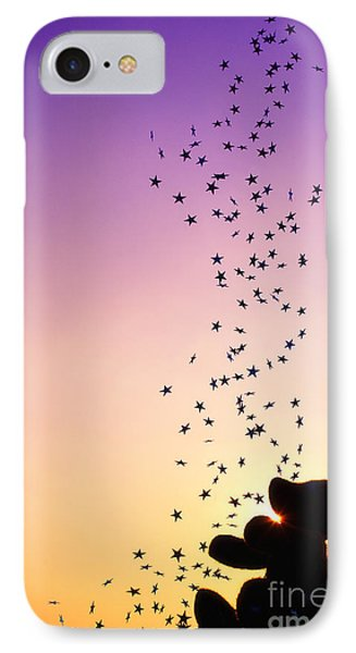 Catch A Falling Star IPhone Case by Tim Gainey