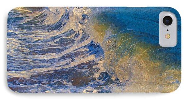 Catch A Wave IPhone Case by John Haldane