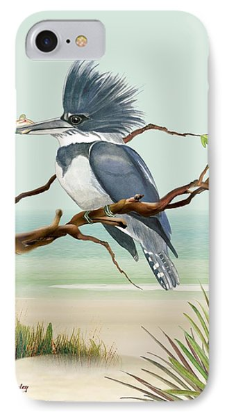 IPhone Case featuring the painting Catch Of The Day by Anne Beverley-Stamps