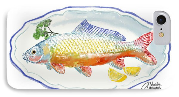 IPhone Case featuring the digital art Catch Of The Day by Arline Wagner
