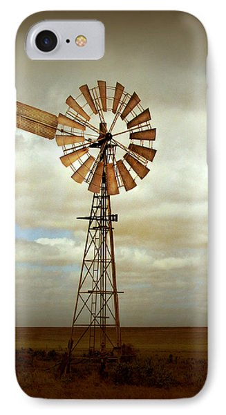Rural Scenes iPhone 7 Case - Catch The Wind by Holly Kempe