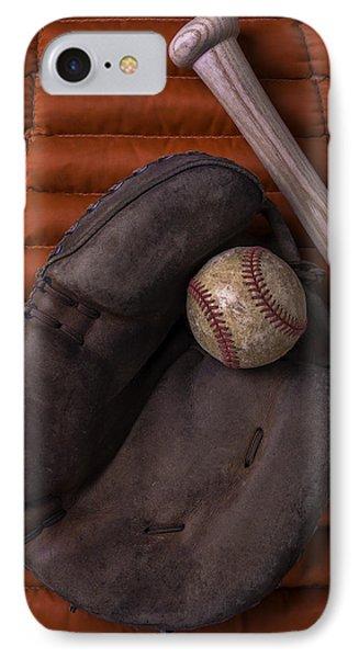 Catchers Mitt And Baseball IPhone Case
