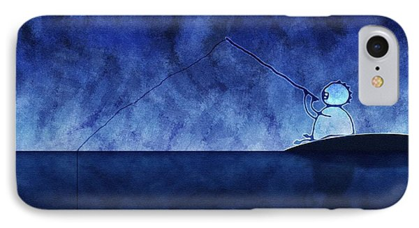 Catching The Moon Under Water IPhone Case by Gianfranco Weiss