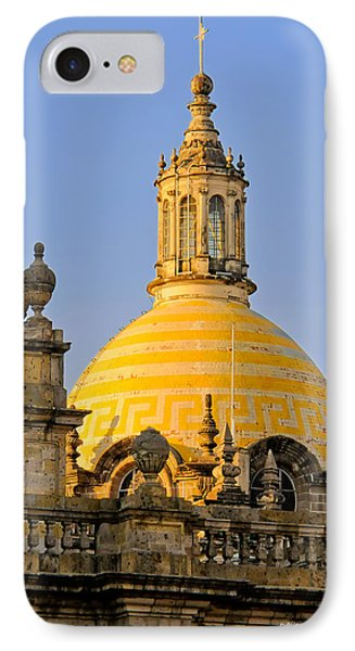 IPhone Case featuring the photograph Catedral De Guadalajara by David Perry Lawrence