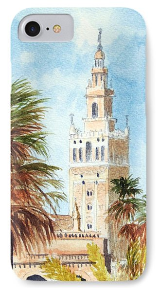 Catedral De Sevilla IPhone Case