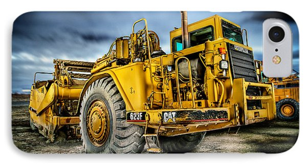 Caterpillar Cat 623f Scraper IPhone Case