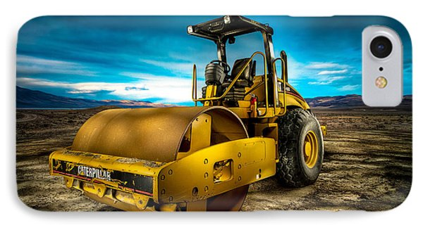Caterpillar Cat Roller Cs563e IPhone Case by YoPedro