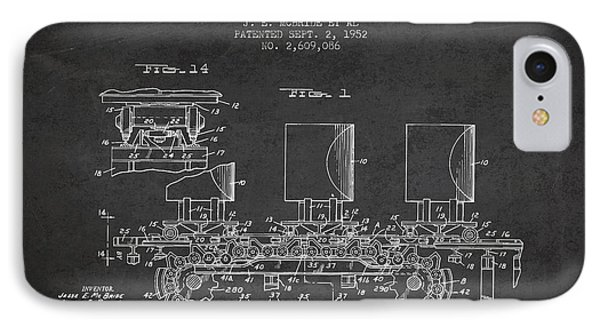Caterpillar Drive Chain Patent From 1952 IPhone Case