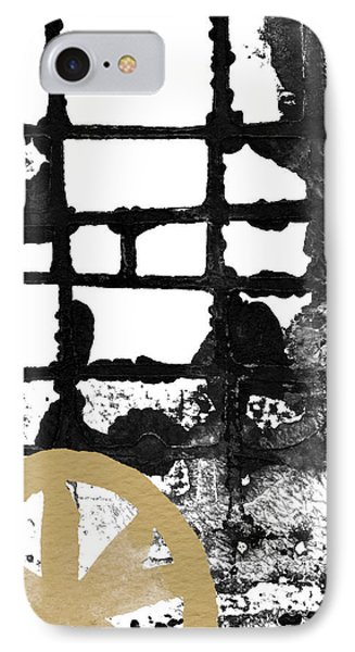 Cathedral- Abstract Painting IPhone Case by Linda Woods