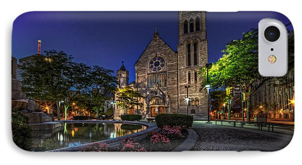Cathedral At Columbus Circle IPhone Case by Everet Regal