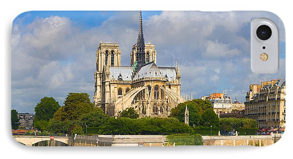 Cathedral At The Riverside, Notre Dame IPhone Case