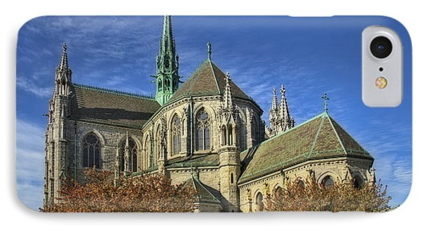Cathedral Basilica Of The Sacred Heart Phone Case by Susan Candelario