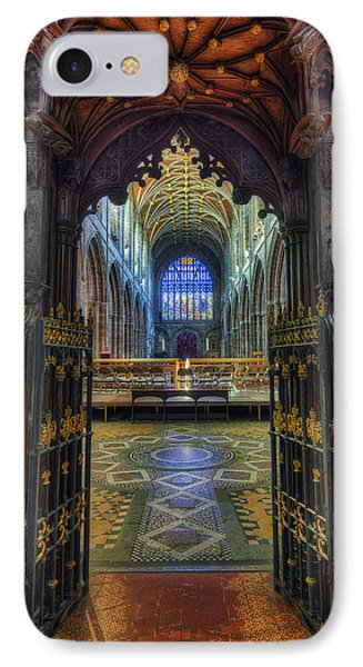 Cathedral Choir Gates Phone Case by Ian Mitchell