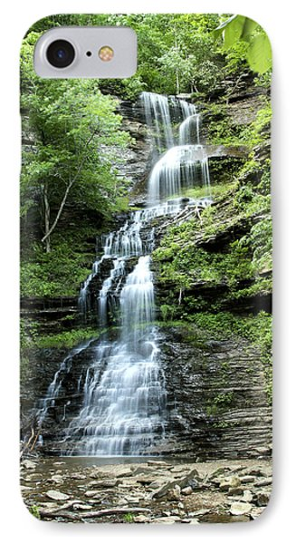 IPhone Case featuring the photograph Cathedral Falls by Robert Camp