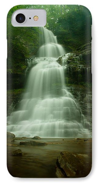 Cathedral Falls IPhone Case by Shane Holsclaw
