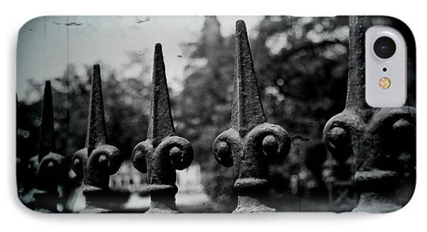 Cathedral Fence Phone Case by Scott Pellegrin