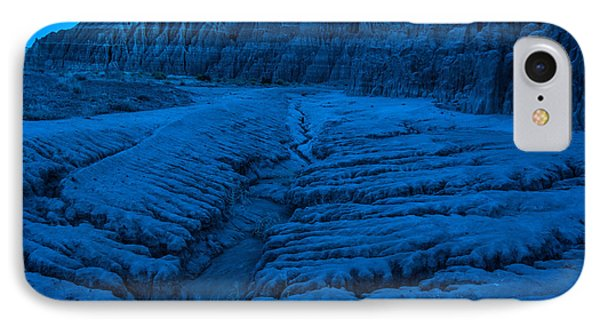 Cathedral Gorge Moonlight Erosion - Nevada IPhone Case by Gary Whitton