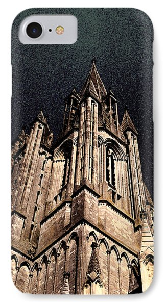 IPhone Case featuring the photograph Cathedral In The Sky by Mary Bedy