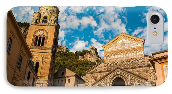 Cathedral Of Amalfi IPhone Case