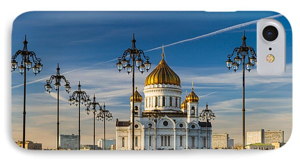 Cathedral Of Christ The Savior 3 - Featured 3 Phone Case by Alexander Senin