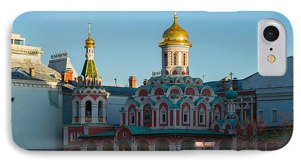 Cathedral Of Our Lady Of Kazan - Square Phone Case by Alexander Senin