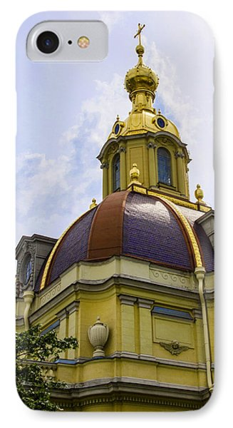 Cathedral Of Saints Peter And Paul IPhone Case by Jon Berghoff