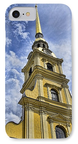 Cathedral Of Saints Peter And Paul - St. Persburg Russia IPhone Case by Jon Berghoff