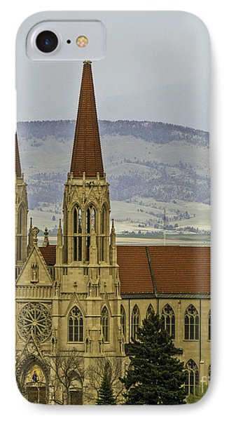 Cathedral Of St Helena Phone Case by Sue Smith