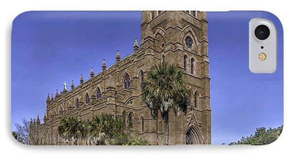 Cathedral Of St. John The Baptist Charleston Phone Case by Lynn Palmer