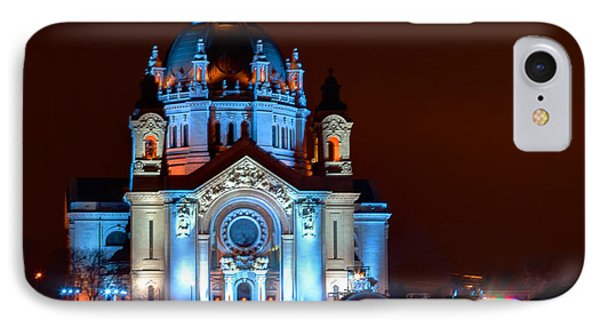Cathedral Of St Paul All Dressed Up For Red Bull Crashed Ice Phone Case by Wayne Moran
