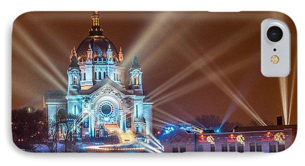 Cathedral Of St Paul Ready For Red Bull Crashed Ice IPhone Case by Paul Freidlund