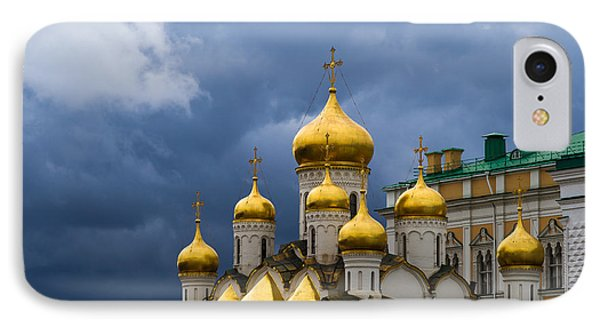 Cathedral Of The Annunciation Of Moscow Kremlin Phone Case by Alexander Senin