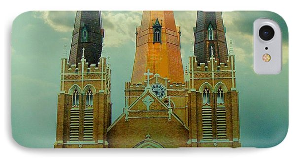 Cathedral Of The Holy Family  IPhone Case