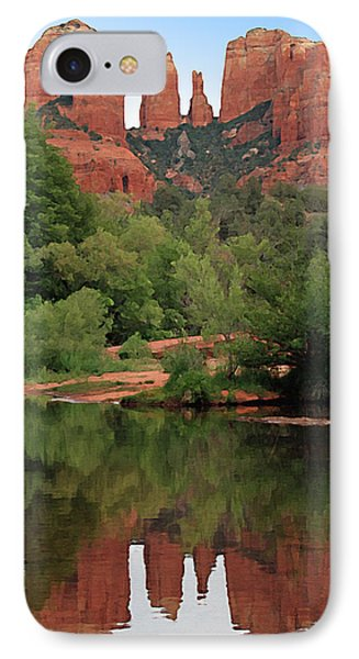 Cathedral Rock 1 IPhone Case by Ellen Henneke