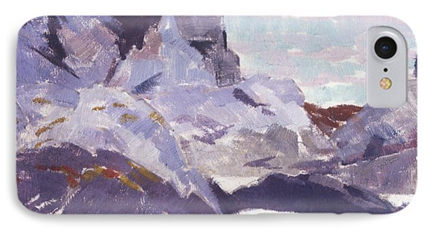 Cathedral Rock  Iona IPhone Case by Francis Campbell Boileau Cadell
