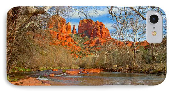 Cathedral Rock IPhone Case by John Roberts