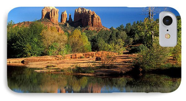 Cathedral Rock Phone Case by Mark Newman