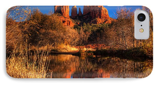 Cathedral Rock IPhone Case by Tom Weisbrook