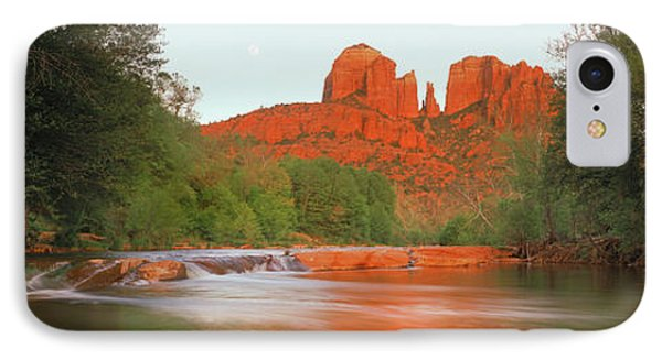 Cathedral Rocks In Coconino National IPhone Case by Panoramic Images