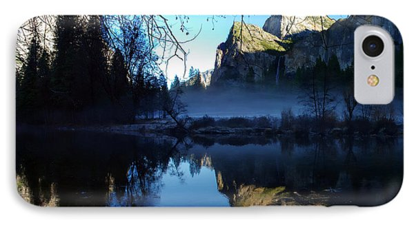 Cathedral Rocks Yosemite National Park IPhone Case