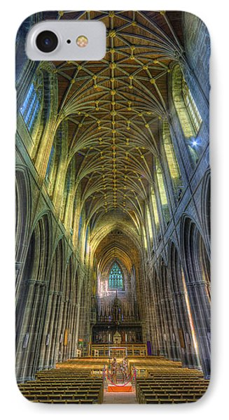Cathedral Vertorama IPhone Case by Ian Mitchell