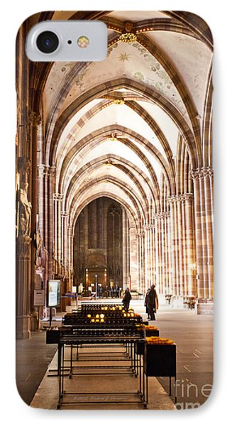 Cathedrale Notre Dame De Strasbourg France IPhone Case