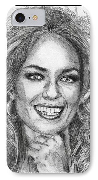 Catherine Bach In 1979 Phone Case by J McCombie