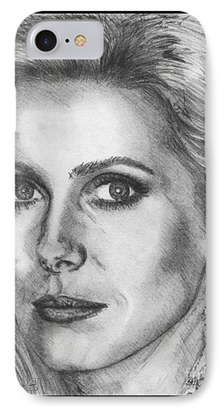 Catherine Deneuve In 1976 Phone Case by J McCombie