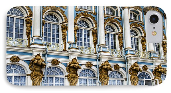 Catherine Palace Facade - St Petersburg  Russia IPhone Case by Jon Berghoff