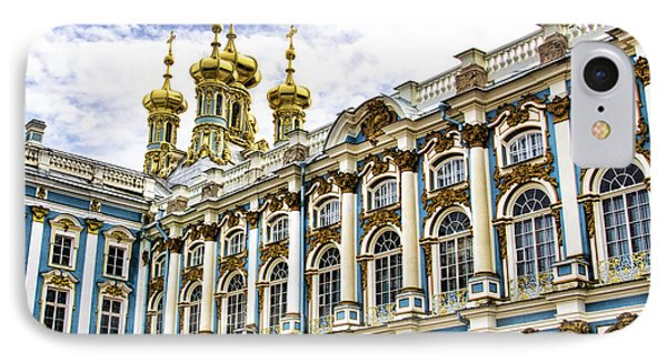 Catherine Palace - St Petersburg Russia IPhone Case by Jon Berghoff