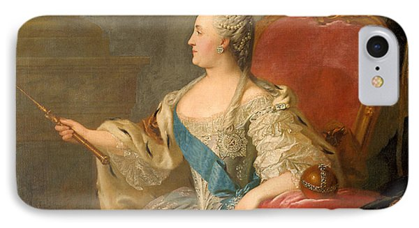 Catherine The Great, 1763 Oil On Canvas IPhone Case
