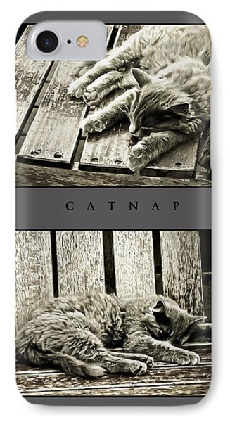 Catnap IPhone Case by Greg Jackson
